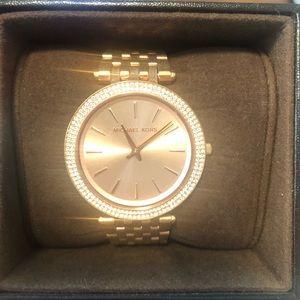 Rose Gold Michael Kors Watch with original box